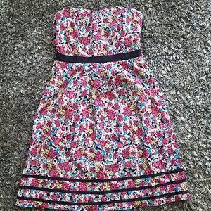 Floral dress sz s